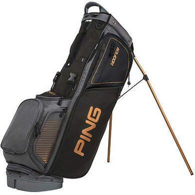 New Ping Hoofer Stand Bag Charcoal/Black/Copper