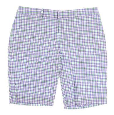 New Womens Ralph Lauren Plaid Golf Shorts Size 6 Multi MSRP $99