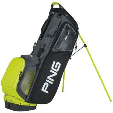 New Ping Hoofer 14 Stand Bag Gray/Black/Limelite