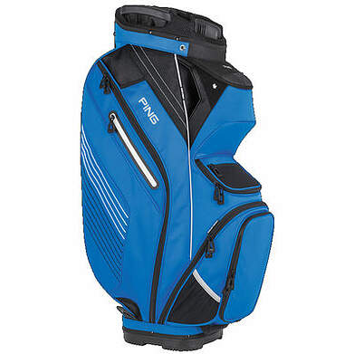 New Ping Pioneer Cart Bag Birdie Blue/Black.White