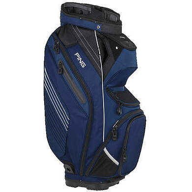 New Ping Pioneer Cart Bag Navy Blue/Black/White