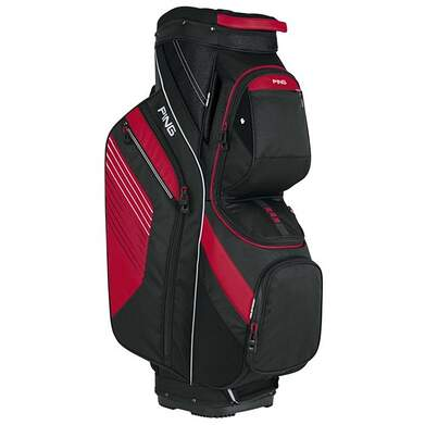 New Ping Traverse Cart Bag Black/Red