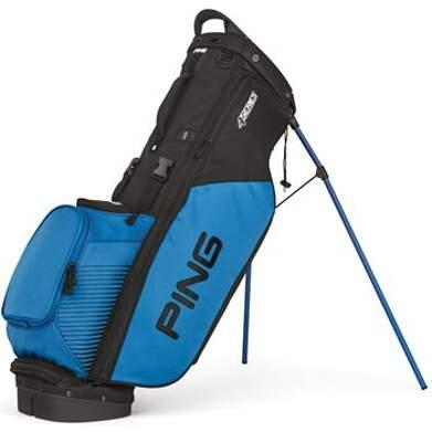 New Ping 4 Series Stand Bag Black/Birdie Blue