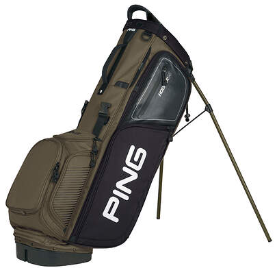New Ping Hoofer 14 Stand Bag Khaki/Gray