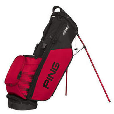 New Ping 4 Series Stand Bag Black/Red