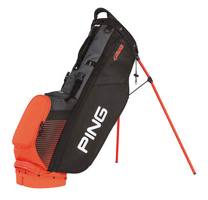 New Ping 4 Series Stand Bag Black/Flare/Charcoal