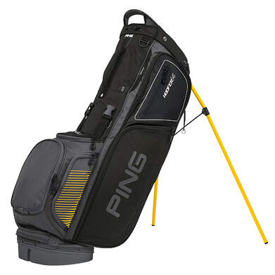 New Ping Hoofer 14 Stand Bag Charcoal/Black/Yellow