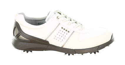 New Mens Golf Shoe Ecco Base One 46 (12-12.5) White MSRP $170