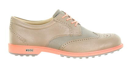 New Womens Golf Shoe Ecco Classic Hybrid 38 (7-7.5) Navajo Brown MSRP $220