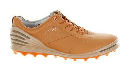 New Mens Golf Shoe Ecco Cage Pro EU 45 (11-11.5) Camel MSRP $210