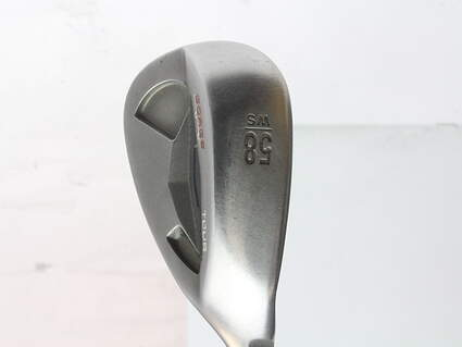 Ping Tour Gorge Wedge Lob LW 58* Wide Sole Ping CFS Steel Stiff Right Handed Black Dot 35.25 in