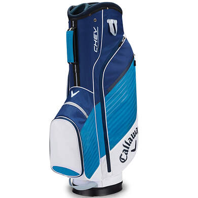 New Callaway Chev Golf Cart Bag White/Teal/Navy Blue