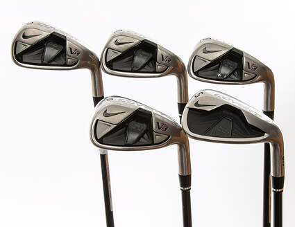 Nike VR S Covert Iron Set 7-PW SW Mitsubishi Kuro Kage Red 50 Graphite Ladies Right Handed 36.25 in