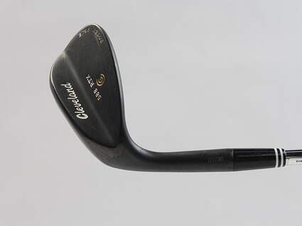 Cleveland 588 RTX Black Pearl Wedge Sand SW 54* 14 Deg Bounce True Temper Dynamic Gold Steel Wedge Flex Left Handed 35.25 in