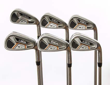 Adams Idea A7 Iron Set 5-PW FST KBS Tour C-Taper Steel Stiff Right Handed 38.75 in