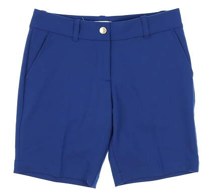 New Womens Vineyard Vines Golf Shorts Size 0 Royal Ocean MSRP $80 2H0347