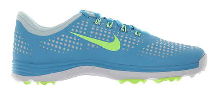 New Womens Golf Shoe Nike Lunar Empress 7.5 Blue Lagoon MSRP $100