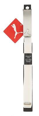 New Womens Puma Web Belt One Size Bright White MSRP $18