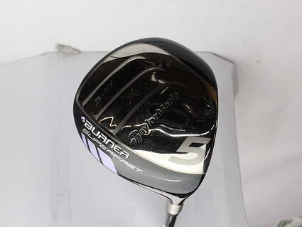 TaylorMade Burner Superfast Fairway Wood 5 Wood 5W 18* TM Matrix Ozik Xcon 4.8 Graphite Ladies Right Handed 41.75 in