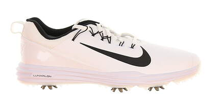 New Mens Golf Shoe Nike Lunar Command 2 Wide 10 White MSRP $135
