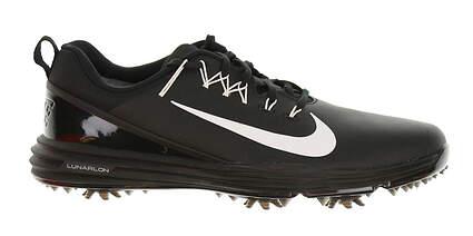 New Mens Golf Shoe Nike Lunar Command 2 9.5 Black MSRP $135