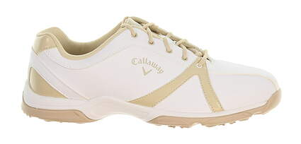 New Womens Golf Shoe Callaway Cirrus Wide 7 White MSRP $100