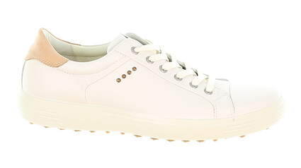 New Mens Golf Shoe Ecco Casual Hybrid 45 (11-11.5) Extra Width White MSRP $160