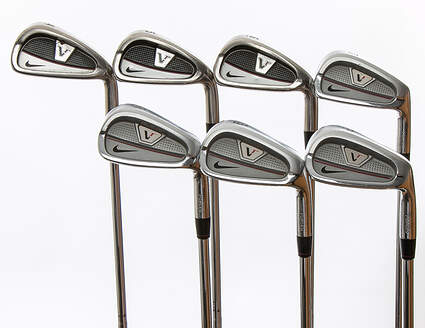 Nike Victory Red Split Cavity Iron Set 4-PW True Temper Dynamic Gold S300 Steel Stiff Right Handed 37.75 in