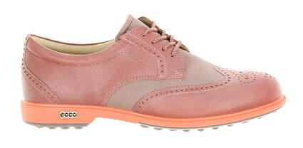 New Womens Golf Shoe Ecco Classic Hybrid 6-6.5 Petal Pink MSRP $190