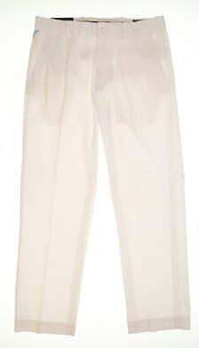New Mens Ralph Lauren Classic Fit Golf Pants 32x30 White MSRP $98.50