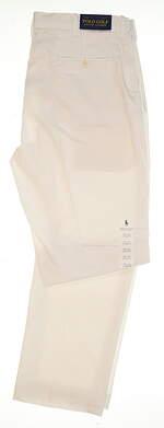 New Mens Ralph Lauren Golf Pants 38x32 White MSRP $98.50