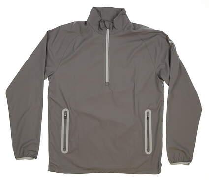 New Mens Puma 1/2 Zip Wind Golf Jacket Medium M Quiet Shade MSRP $80 572297