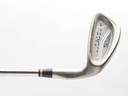 Cobra Gravity Back Single Iron 9 Iron Stock Steel Shaft Steel Stiff Right Handed 35.75 in