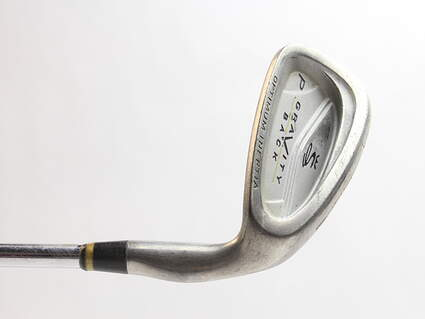 Cobra Gravity Back Single Iron Pitching Wedge PW 46* Stock Steel Shaft Steel Stiff Right Handed 36 in