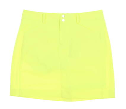 New Womens Ralph Lauren Golf Skort Size 4 Neon Yellow MSRP $125
