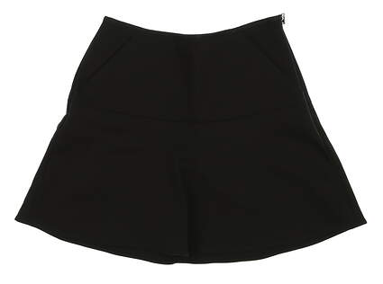 New Womens Ralph Lauren Golf Skort Size 0 Black MSRP $125