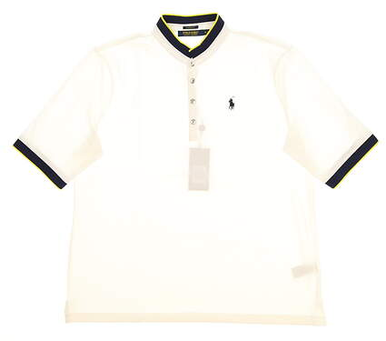 New Womens Ralph Lauren Classic Fit Golf Polo X-Large XL White MSRP $89.50
