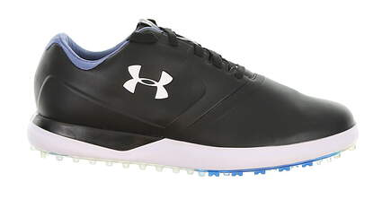 New Mens Golf Shoe Under Armour UA Performance Spikeless 10 Black MSRP $140