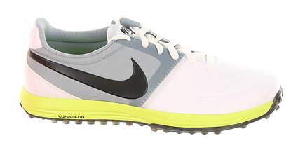 New Mens Golf Shoe Nike Lunar Mont Royal 10.5 White/Dove Grey/Volt MSRP $140