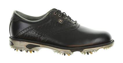 New W/O Box Mens Golf Shoe Footjoy Dryjoys Tour Medium 9.5 Black MSRP $280