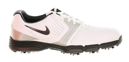 New Mens Golf Shoe Nike Lunar Saddle Medium 9 White MSRP $150