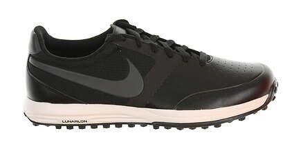 New Mens Golf Shoe Nike Lunar Mont Royal Medium 10.5 Black MSRP $140
