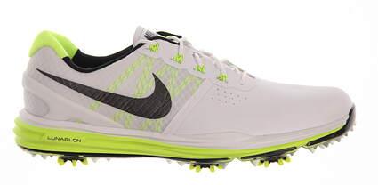 New Mens Golf Shoe Nike Lunar Control III 9.5 White/Green MSRP $240