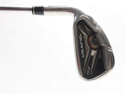TaylorMade Burner 2.0 HP Single Iron 7 Iron TM Burner 2.0 85 Steel Stiff Left Handed 37.25 in