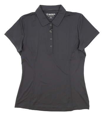 New Womens SUNICE Jacqueline Coollite Golf Polo Medium M Gray MSRP $70 831515
