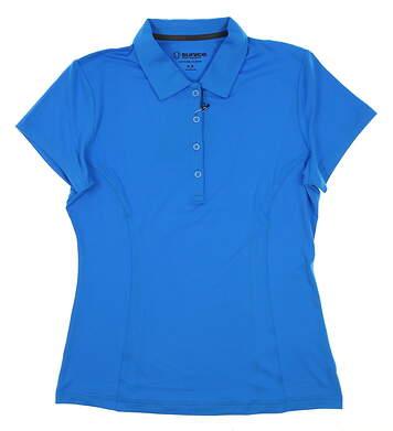 New Womens SUNICE Jacqueline Coollite Golf Polo Medium M Blue MSRP $70 831515