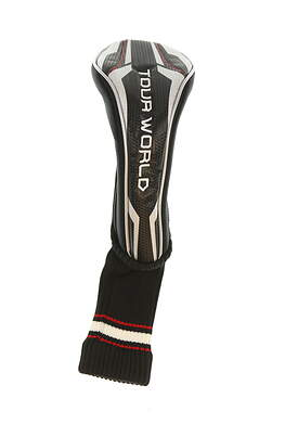 Honma Tour World TW717 Fairway Wood Headcover Black/Gray/Red