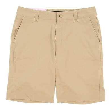 New Womens Under Armour Golf Shorts Size 8 Khaki MSRP $61