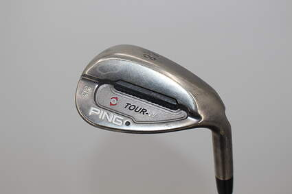 Ping Tour-W Brushed Silver Wedge Lob LW 58* Ping AWT Steel Regular Right Handed Black Dot 35.5 in