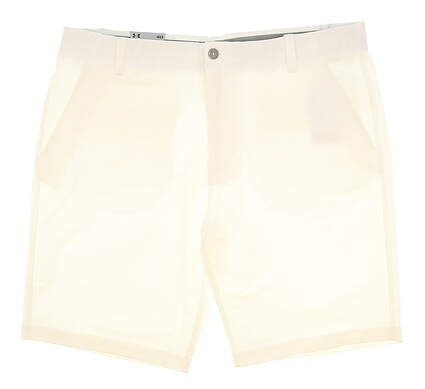 New Mens Under Armour Golf Shorts Size 40 White MSRP $65 UM889000